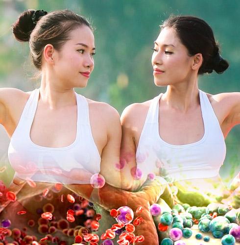 Три шага для для долголетия и омоложения. Клетки тела и Причины старения.