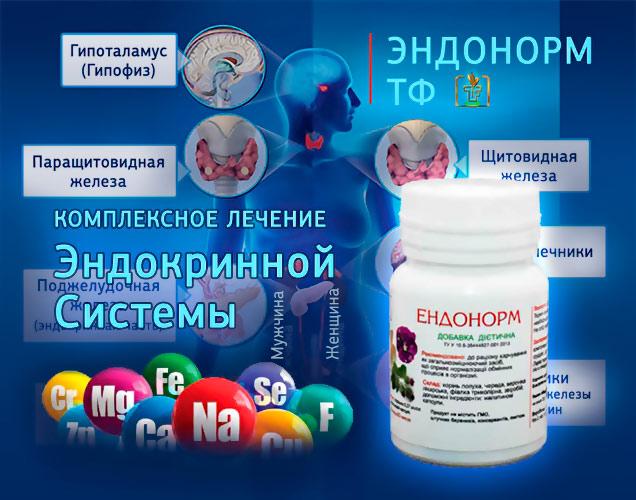 Эндонорм - Комплексное Лечение Эндокринной Системы